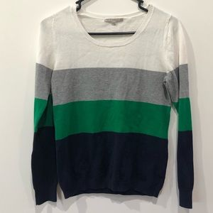 Gap extra small striped sweater
